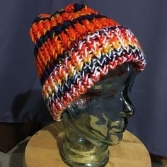 Another version of rainbow hat