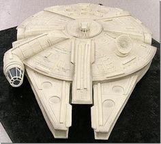 Star Wars ship cake