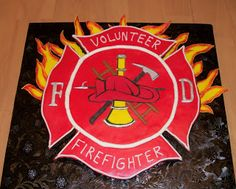 """Bellissimo! Specialty Cakes: """"Firefighter Cake"""" - 11/11"""