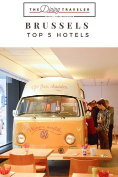 Top five hotels in Brussels, sorted in Luxury Travel, Affordable Design, Design, Art Lovers, and At home with locals! There is a perfect hotel here for everyone!