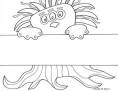 Free Monster Writing Papers  Printables    Writing