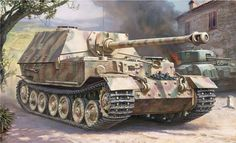Chasseur de chars Panzerjäger Tiger P Elefant Panzer Iv, Adolf Galland, Tank Warfare, Tank Armor, Tank Destroyer, Armored Fighting Vehicle, Ww2 Tanks, World Of Tanks, Military Equipment