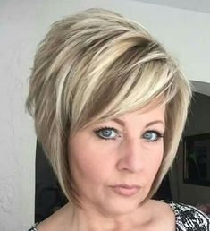 You can easily surmise by her stunning haircut, that his sexy soccer mom will gobble the goop like a thick milkshake through a straw! Short Hair With Layers, Short Hair Cuts, Short Hair Styles, Razor Cut Hair, Cute Bob Haircuts, Short Bob Hairstyles, Short Stacked Haircuts, Stylish Hair, Great Hair