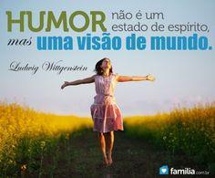 Familia.com.br | Atingindo um estado de humor a ponto de rir de si mesmo.