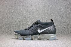 6c332eabe69 Nike Air VaporMax 2 942842 001 BLACK WHITE DARK GREY Cheap Sneakers