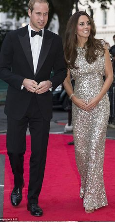 Couple Love - Kate Middleton on the Red Carpet With Prince William