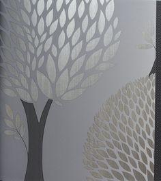 Tapety flora stylizowana - aranżacje i wzory -  tapety ścienne Artfunk Wrocław