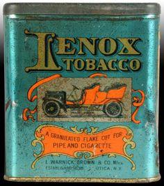 Lenox Tobacco Pocket Tin