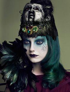 love this! #halloween #costume #makeup #ideas