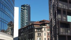 Solaria tower, Porta Nuova, Milano