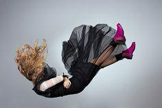 blog/ falling onto matress idea