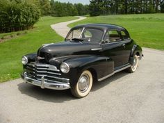 It's a 1947 Chevy Stylemaster 2 door Business Coupe in VERY GOOD condition.