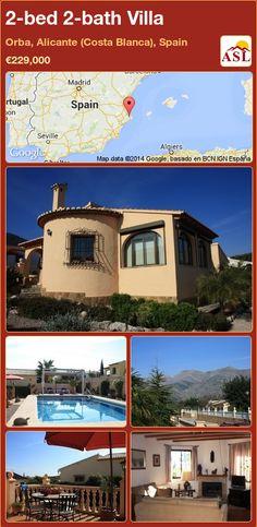2-bed 2-bath Villa in Orba, Alicante (Costa Blanca), Spain ►€229,000 #PropertyForSaleInSpain