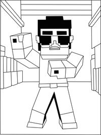 Printable Minecraft Sheep coloring pages Elijah Pinterest