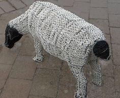 beaded sheep