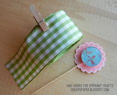 Dress up a simple toothpick with the #epiphanycrafts Shape Studio Tool Round 25 available at #MichaelsStores www.epiphanycrafts.com