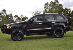 Built Jeep Grand Cherokee WK by Murchison Products Australia