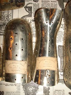 Rare Antique Medical Levis's Metallic Splints Metal by PeteTheGeek