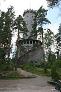 An old view tower in Aulanko, Hämeenlinna, Finland Good Neighbor, Fortification, Amazing Adventures, Nature Reserve, Helsinki, Places To See, Countryside, Scenery, Around The Worlds