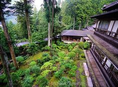 Room with a view: overlooking the garden at 80 year old Yunoshimakan Ryokan, a traditional Japanese inn. Located in the middle of a forest,  surrounded by cypress and cedar, the ryokan sits above Gero Onsen rated one of Japan's 3 best hot springs. #ryokan #spa #hotspring #Yunoshimakan  #onsen #geroonsen  #gifu #japan @thephotosociety @natgeo @natgeocreative @natgeotravel