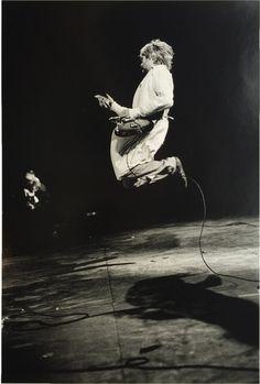 Paddle8: Kurt Cobain, Reading Festival - Charles Peterson