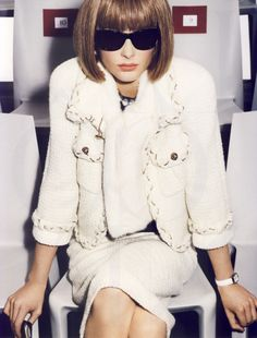 Anna Wintour. I may be the only person who doesn't care if she's the 'Dragon Lady'.