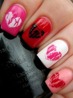 55 Creative Nail Art Designs for Valentines Day 2014  Family Holiday
