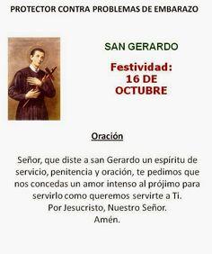 San Gerardo, protector embarazo