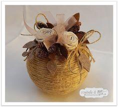 Christmas Balls, Christmas Crafts, Christmas Decorations, Christmas Ornaments, Origami, Basket, Rustic, Lotus, Party
