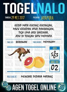 Pools JP 2D Togel Wap Online TogelNalo Jayapura 29 Mei 2017