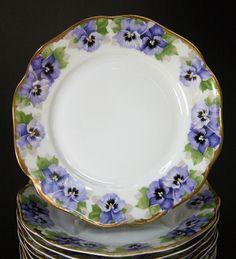 Kristall & Dahlia online shop | antique porcelain & crockery | antiques & art | Rosenthal/Viktoria Luise antique plate** | antiques & porcelain & crockery