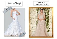 Consider choosing a soft white, like ivory or cream, over pure white.