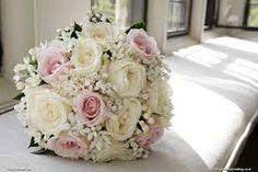 Image result for pink rose wedding flowers