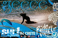 ~ Surf in crete ~ kitesurf , sup , surf , windsurf , sailing , surfari