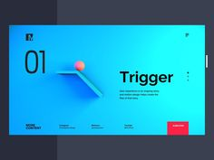 Experimenting how motion can guide users through the experience using simple physics simulation. Minimal Web Design, Web Ui Design, Best Web Design, Web Design Trends, Best Landing Page Design, App Landing Page, Webdesign Inspiration, App Design Inspiration, Maquette Site Web