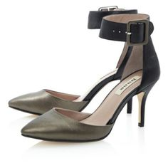 DECANTER - Two Part Ankle Cuff Court Shoe By Dune, online at Dune London