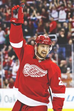 Tomas Tatar ♥ Hot Hockey Players, Ice Hockey, I Have A Crush, Having A Crush, Go Red, Detroit Pistons, Detroit Red Wings, Detroit Tigers, Nhl