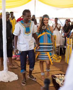 Tsonga Traditional Dresses Designs For Wedding - Style2 T