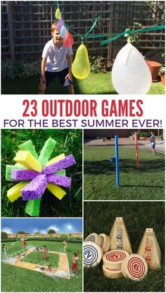 16 of the Funnest Camping Games for Kids   Hacks Galore   Pinterest     23 Outdoor Games to Make Summer a Blast