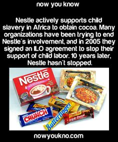 revolucionvegana:murderwhitepeople:elionki       Sourcefor more facts followNowYouKno  Nestle also doesn't think that water is an essential human right.  melanin-101 Not in our house  Know what you support y'all.  Dammit. Fucked up my after valentines day plans.  :-(  Mars is cool tho right? Numerous Palestinian groups have also asked people to boycott Nestle as part of the BDS (Boycott, Divest, and Sanction) ...