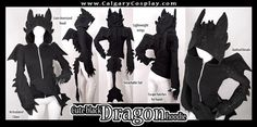 How To Train Your Dragon's Toothless | 10 Warm Halloween Costumes For Lazy Geeks