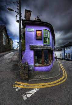 """Main Street"" by Gerry Chaney. Photo taken April 24, 2011 in Kinsale, Cork, Ireland"