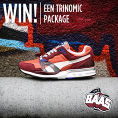 WIN! EEN TRINOMIC PACKAGE  www.sneakerbaas.nl