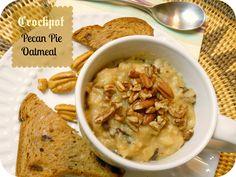 The Better Baker: Crockpot Pecan Pie Oatmeal