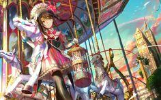 Fonds d'écran Manga par bobysan - Hebus.com