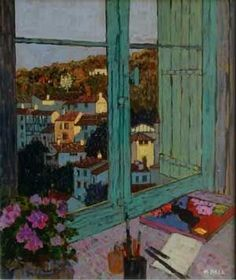 Mike Hall - View of Evening Village