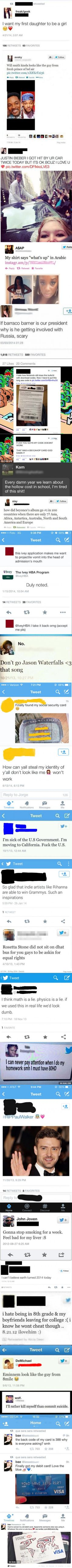 23 Of The Dumbest Tweets Ever Tweeted ----- This just cracked me up! Made my day, though!