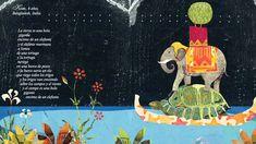 """""""Arroz, agua y maíz"""" Texto: Berta Piñán Ilustraciones: Elena Fernández Formato: 21x26 Encuadernación: Tapa dura con lomo entelado ISBN 1ª Edición: 978-84-92964-15-4 ISBN 2ª Edición: 9788492964642 // Versos para niños y niñas de todas las partes del mundo. Premio de Literatura Infantil y Juvenil MARÍA JOSEFA CANELLADA 2008. Diploma en los PREMIOS VISUAL de Diseño Editorial 2009."""