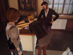 Image result for life is strange victoria and mr jefferson