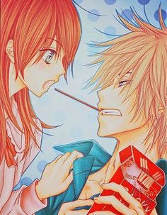Kurasaki & Teru~Poky Romance | Dengeki Daisy #manga